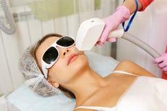 Laser-Haar-Abbau Hardware Cosmetology Stockfoto