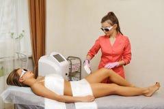 Laser-Haar-Abbau Hardware Cosmetology Stockbild