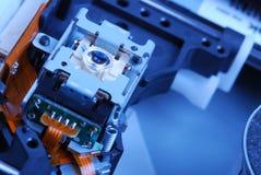Laser head blue color Stock Image