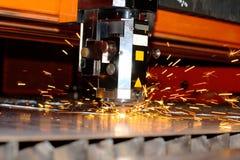 Laser industrial Foto de archivo