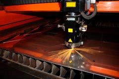 Laser industrial Foto de archivo libre de regalías