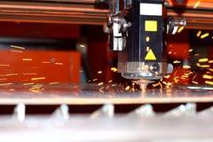 Laser industriel Photos libres de droits