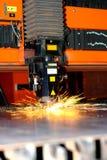 Laser industriel photo stock