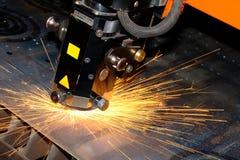 Laser industriel Image libre de droits