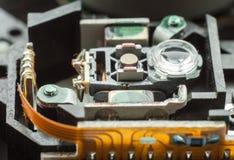 Laser-Kopf. Lizenzfreies Stockbild