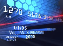 laser kredytowe karty royalty ilustracja