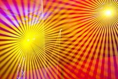 laser-lampor Arkivbild