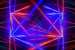 Laser light background Stock Photo