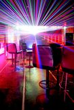 Club party. Laser and light in club party Royalty Free Stock Photo