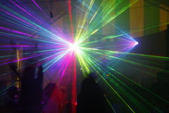Laser light Royalty Free Stock Images