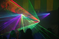 Laser light Royalty Free Stock Photography