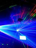 Laser light Royalty Free Stock Photos
