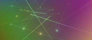 Laser lighting Royalty Free Stock Image