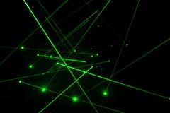 Laser lighting Stock Image