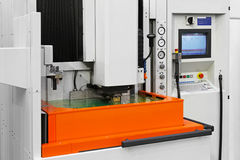 Laser machining Royalty Free Stock Images