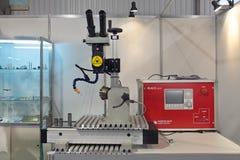Laser-maskinen Royaltyfri Foto