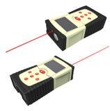Laser meter Stock Image