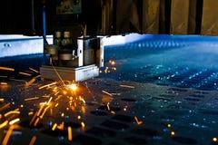 Laser-Nahaufnahme Lizenzfreies Stockfoto
