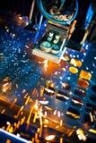 Laser-Nahaufnahme Lizenzfreies Stockbild