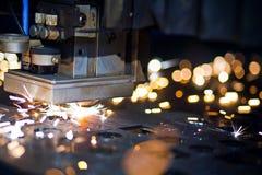 Laser-Nahaufnahme Stockfoto