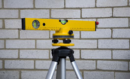 laser-nivåande Arkivfoton