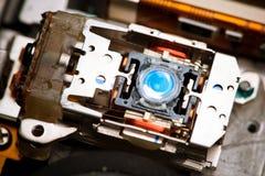 Laser-Objektiv von dvd stockfotografie