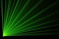 Laser party Stock Photography