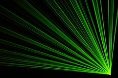 Laser party. Excelent green laser party at the club Royalty Free Stock Image