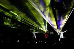 laser party show Στοκ Εικόνες