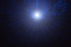 Laser-Portal mit einem zentralen Licht Lizenzfreies Stockbild