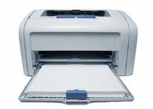 Laser printer. Over white background stock images