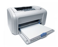 Laser printer Stock Photos