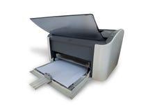 Laser Printer. Isolated on white background royalty free stock photos