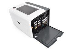 Laser printer and Cartridges Royalty Free Stock Photos