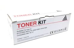 A laser printer toner box suitable for use in fs1000 stock photography