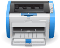 Laser printer in vector HP LaserJet 1022 Royalty Free Stock Image