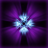laser-quantumquasar Arkivfoto