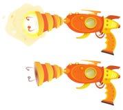 Laser Ray Gun do espaço ilustração stock
