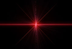 Laser rays. Special effect with laser rays Stock Photos