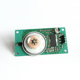 Laser Reflex Electric Motor on Print Circuit Board Stock Photography