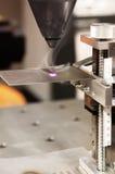 Laser-Roboter Stockbild