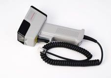 Laser scanner. Hand held bar-code laser scanner Stock Photo