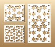 Laser-Schnittplatte Stockbilder