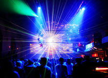 Laser show Stock Photography