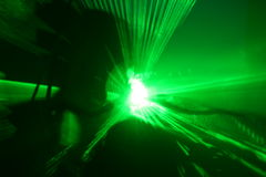 Laser show Royalty Free Stock Photo
