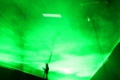 laser-show royaltyfria bilder