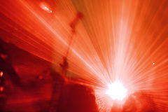 Laser show Royalty Free Stock Images