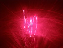 Laser show background Stock Photography