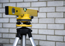Laser-Spiritus-Stufe Lizenzfreie Stockfotos
