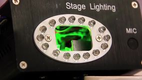 Laser stage lighting Royalty Free Stock Photography